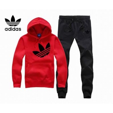 marque vetement femme,Adidas Survetement Coton Rouge et Noir